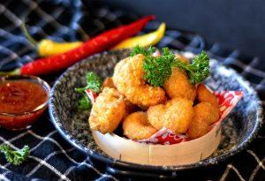 camarones platillo fotografía alimentos