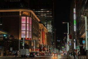 fotografía callejera noche