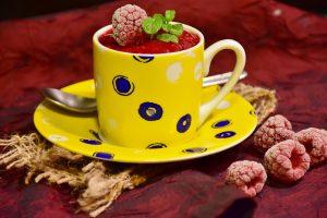 frambuesa color fotografía alimentos