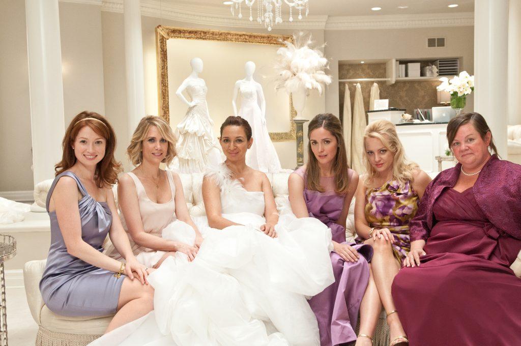 Bridesmaids, dirigida por Paul Feig, 2011.