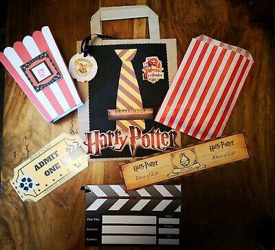 Noche de películas con temática de Harry Potter