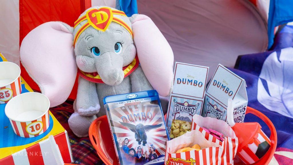 Noche de películas con temática de Dumbo
