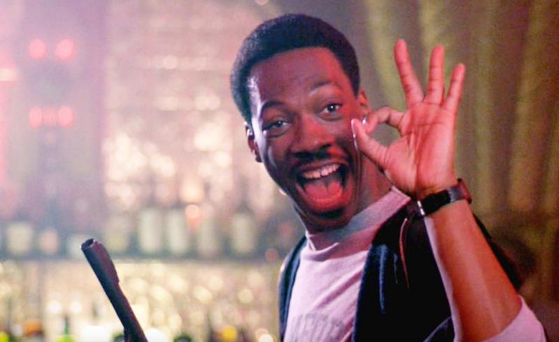 Policía de Beverly Hills, película dirigida por Martin Brest, 1984