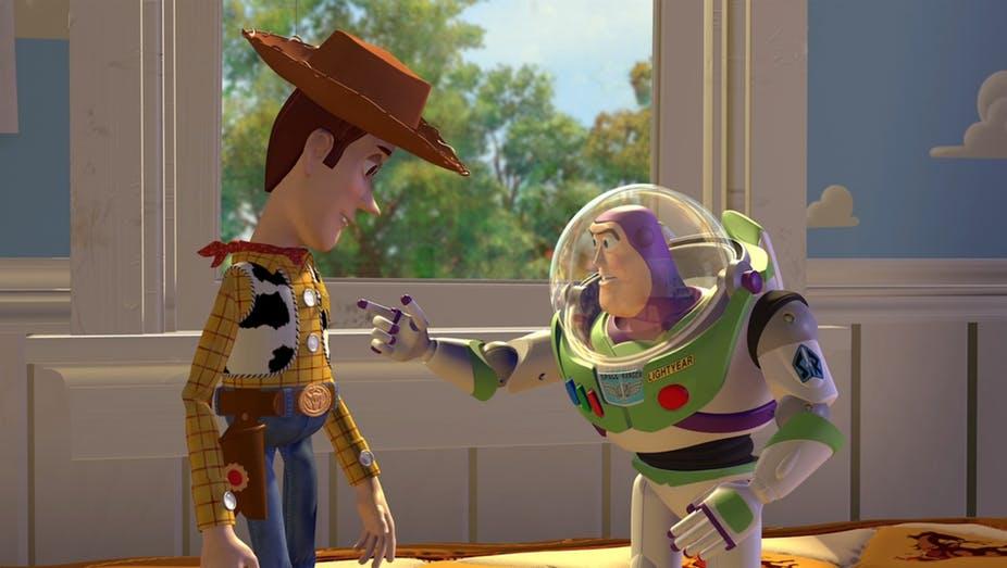 Las películas de Toy Story