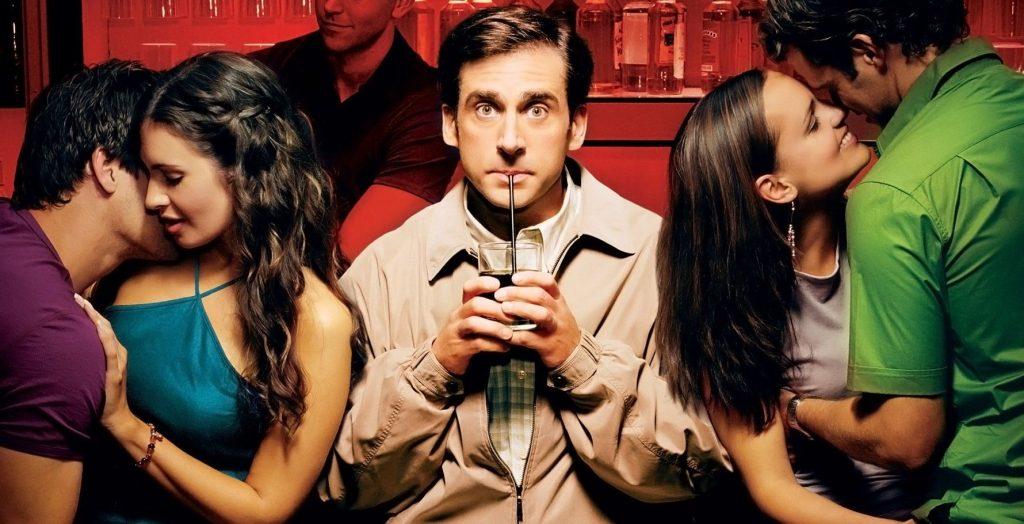 Virgen a los 40, dirigida por Judd Apatow, 2005.