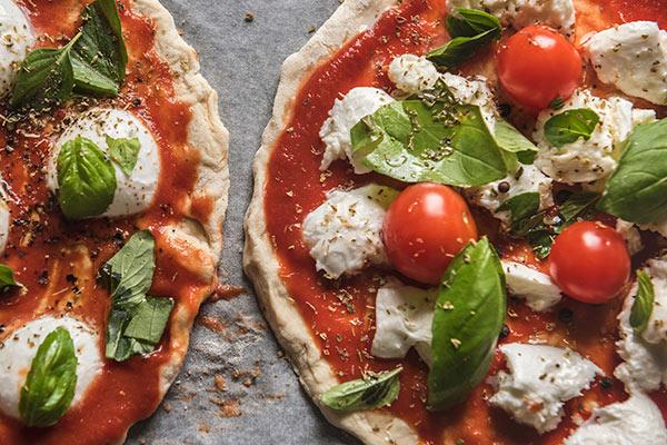 exquisita pizza margarita