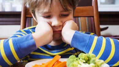 porque los niños no les gusta la verdura
