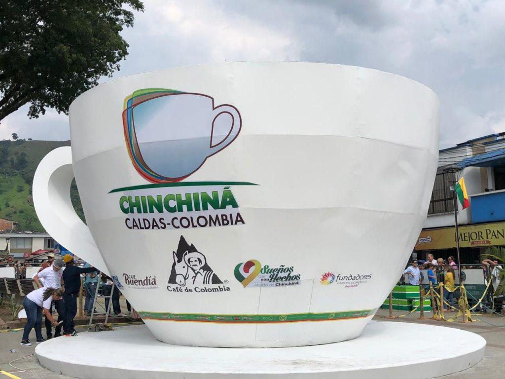 taza de café Guinness Colombia